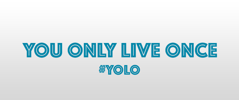 You Only Live Once YOLO